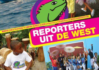 Affiche Reporters uit de West