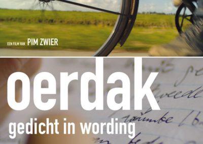 Affiche Oerdak: Gedicht in Wording